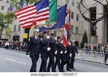FDNY color guard