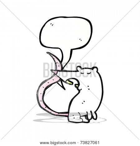 squeaking lab rat cartoon