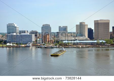 Norfolk Skyline, Virginia