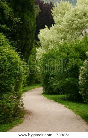 Secret Path at Ninfa