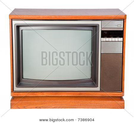 Old Console Television