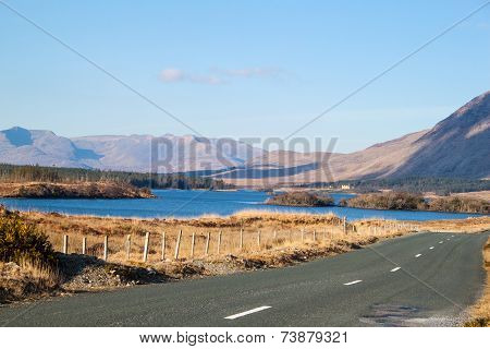View of Lough Inagh