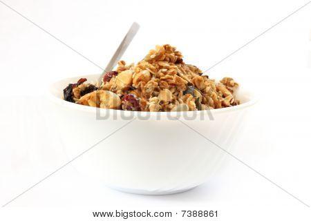 Baked Muesli In Bowl