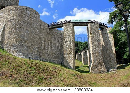 Fortress of Targu Neamt, Romania