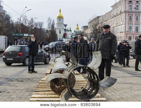 Exhibition Of Russian Weapons In Kiev