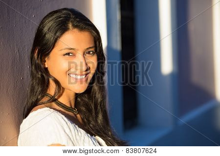 Headshot Of Happy Woman