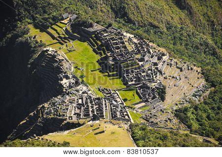 Machu Picchu view high details