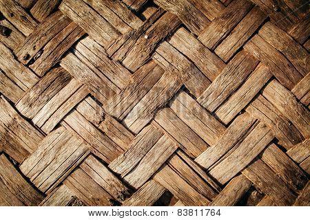 Wood Wickerwork Texture
