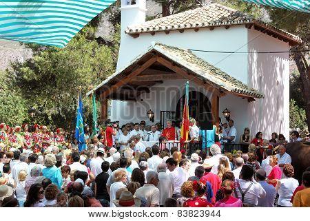 Religius gathering, Marbella.