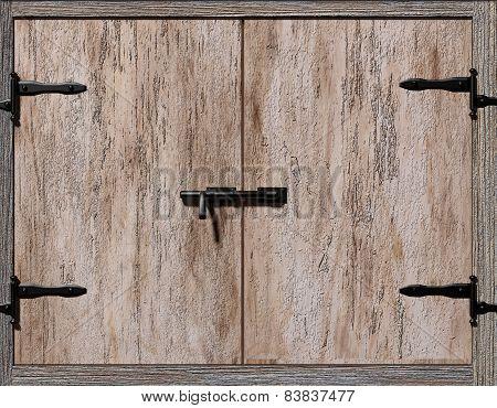 Old Cupboard Door