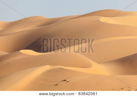 Dunes In The Empty Quarter Desert