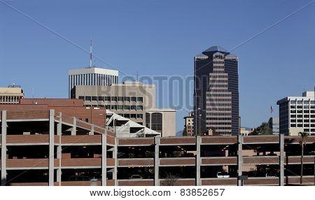 Car Parking In Tucson Downtown, AZ
