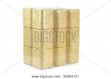 A Pack of Wooden Briquettes