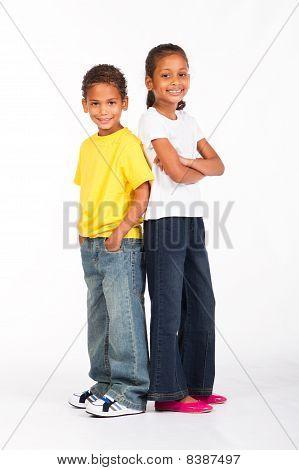indian siblings
