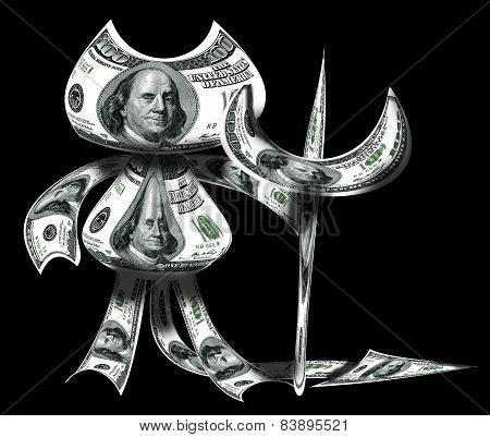 Devil Made From Dollars