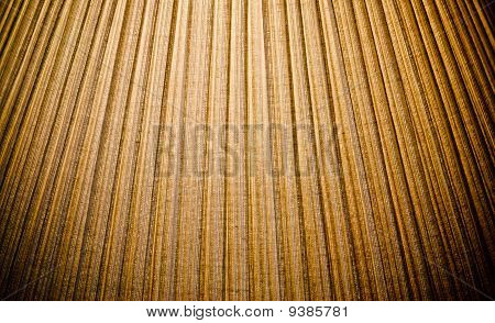 Pleated Texture Of A Lamp Shade