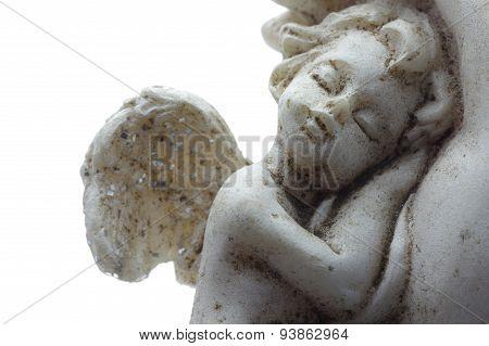 Cherub asleep portrait