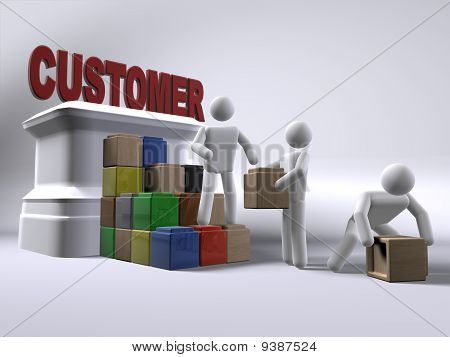Reaching To The Customer
