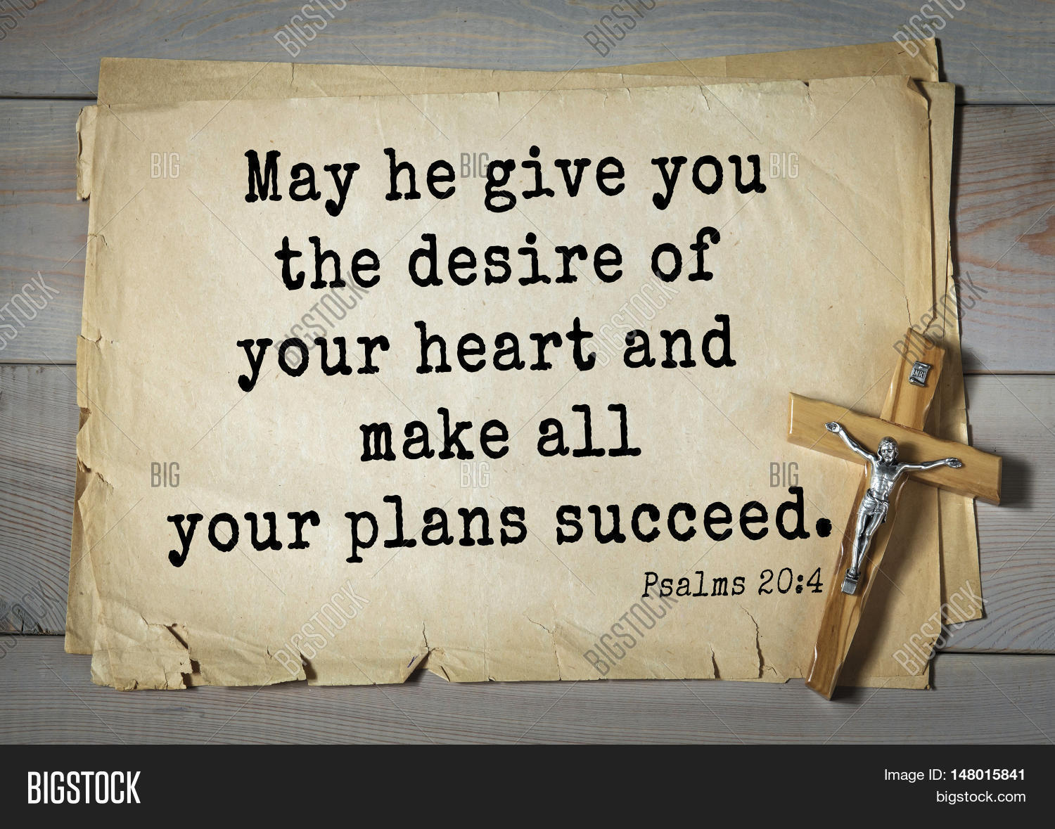 Top 1000 bible verses image photo free trial bigstock bible verses from psalms may he give you the desire of freerunsca Image collections