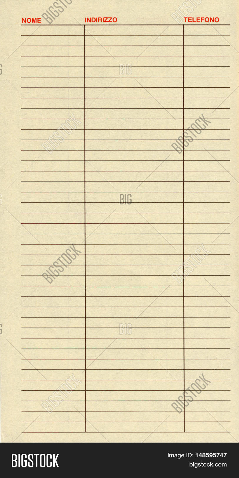 blank address book image photo free trial bigstock