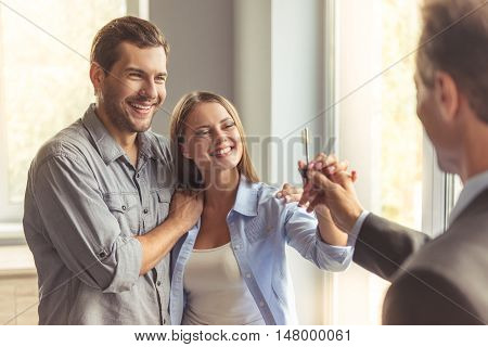 Couple Buying New Apartment