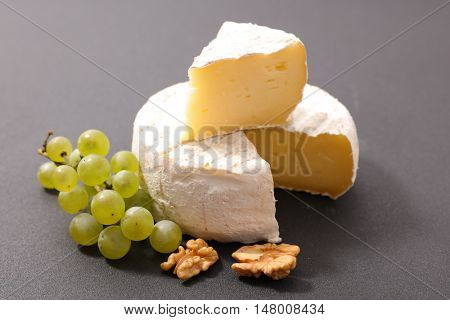 french cheese with grape