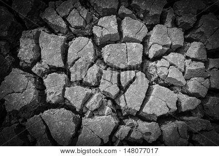 soil Ground parched dry land Background patterned ground dry for design texture pattern and background.