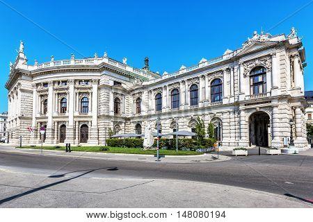 Burgtheater, Austrian National Theatre In Vienna.