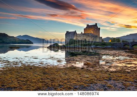 Sundown At Eilean Donan