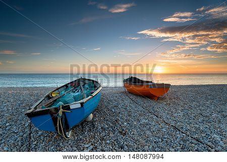 Sunset On Chesil Beach