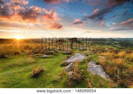 Stunning Moorland Sunset