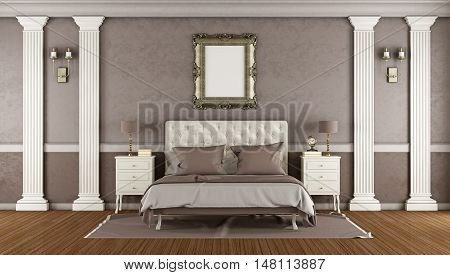 Luxury Brown Master Bedroom