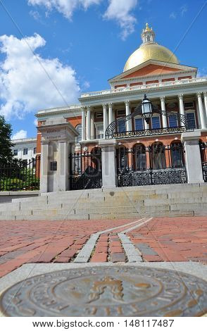 Massachusetts State House, Boston Beacon Hill, Massachusetts, USA
