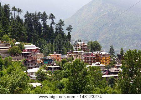 Kullu Valley In Himachal Pradesh, India