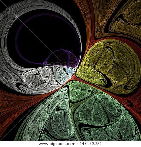 Dark Fractal Art
