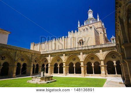 Old Cathedral Or Se Velha Of Coimbra, Portugal