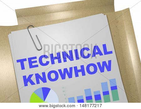 Technical Knowhow Concept