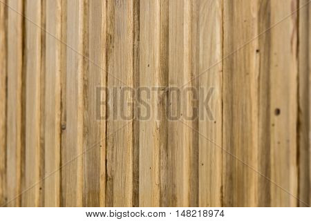 background of wooden Board with depth of field