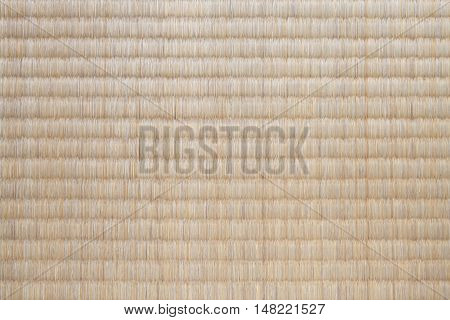 Japanese tatami mat texture and background seamless