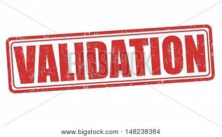 Validation Sign Or Stamp