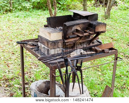 Forge Of Country Outdoor Blacksmith