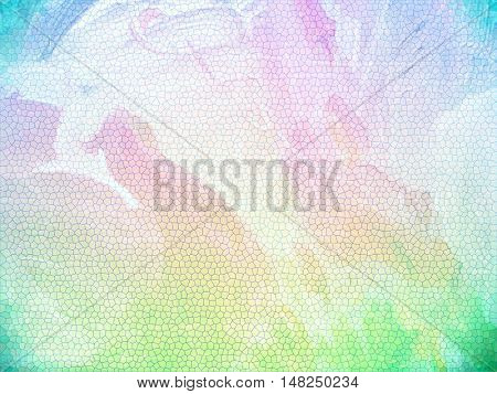 Colorful background abstract with vignette corners