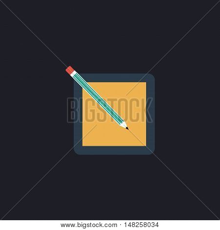 subscription Color vector icon on dark background