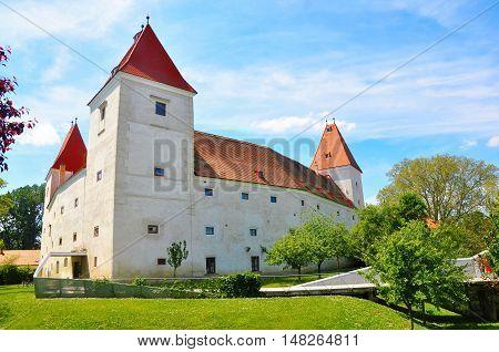 Orth an der Donau, Lower Austria - May 26, 2016: Schloss Orth
