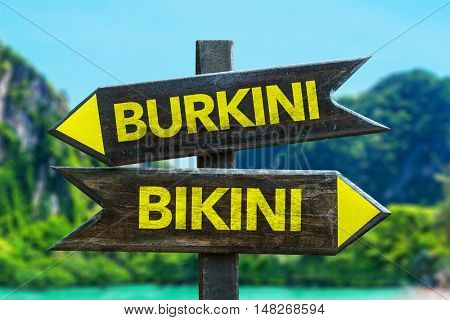 Burkini vs Bikini