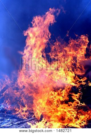 Big Hot Fire.