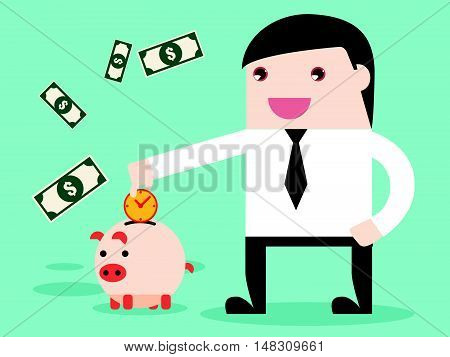 Save Time To Make Money Be Achievement