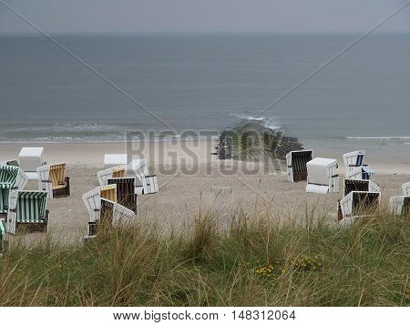 the Island of wangeroog in the german North sea