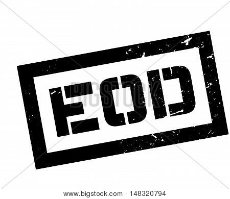 Eod Rubber Stamp