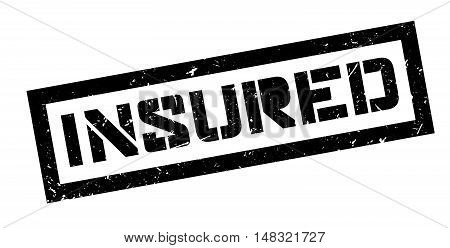 Insured Rubber Stamp